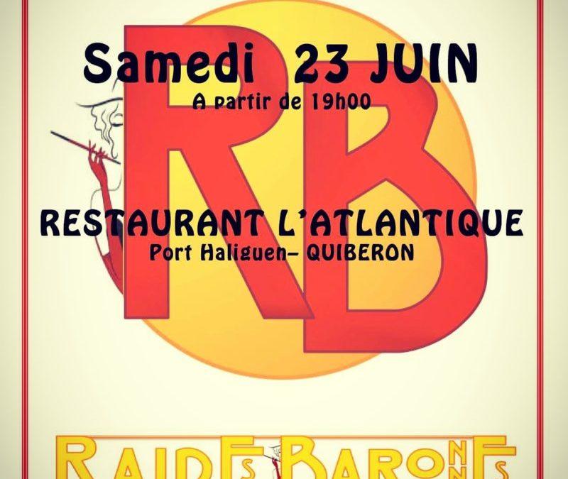 Samedi 23 Juin: Concert des Raides Baronnes au Restaurant L'Atlantique