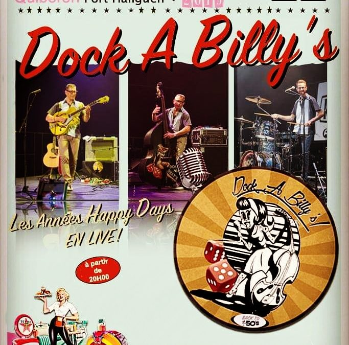 Vendredi 22 mars : Soirée Dock A Billy's !